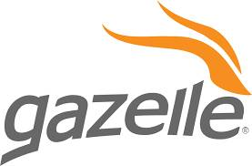 gazelle logo refurbished
