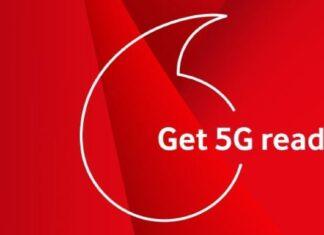 Δίκτυο 5G Vodafone